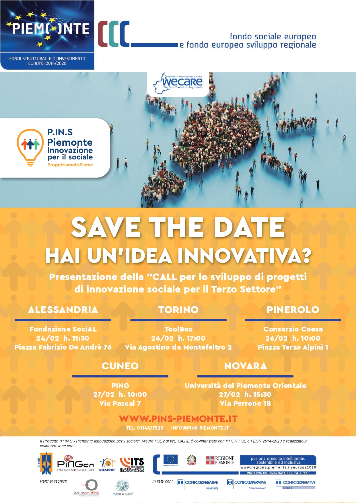 Save The Date – Candida la tua idea innovativa entro il 5/03/2020