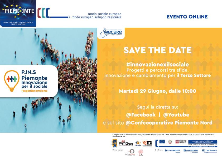 SAVE THE DATE 29/06 h 10.00 #innovazionexilsociale